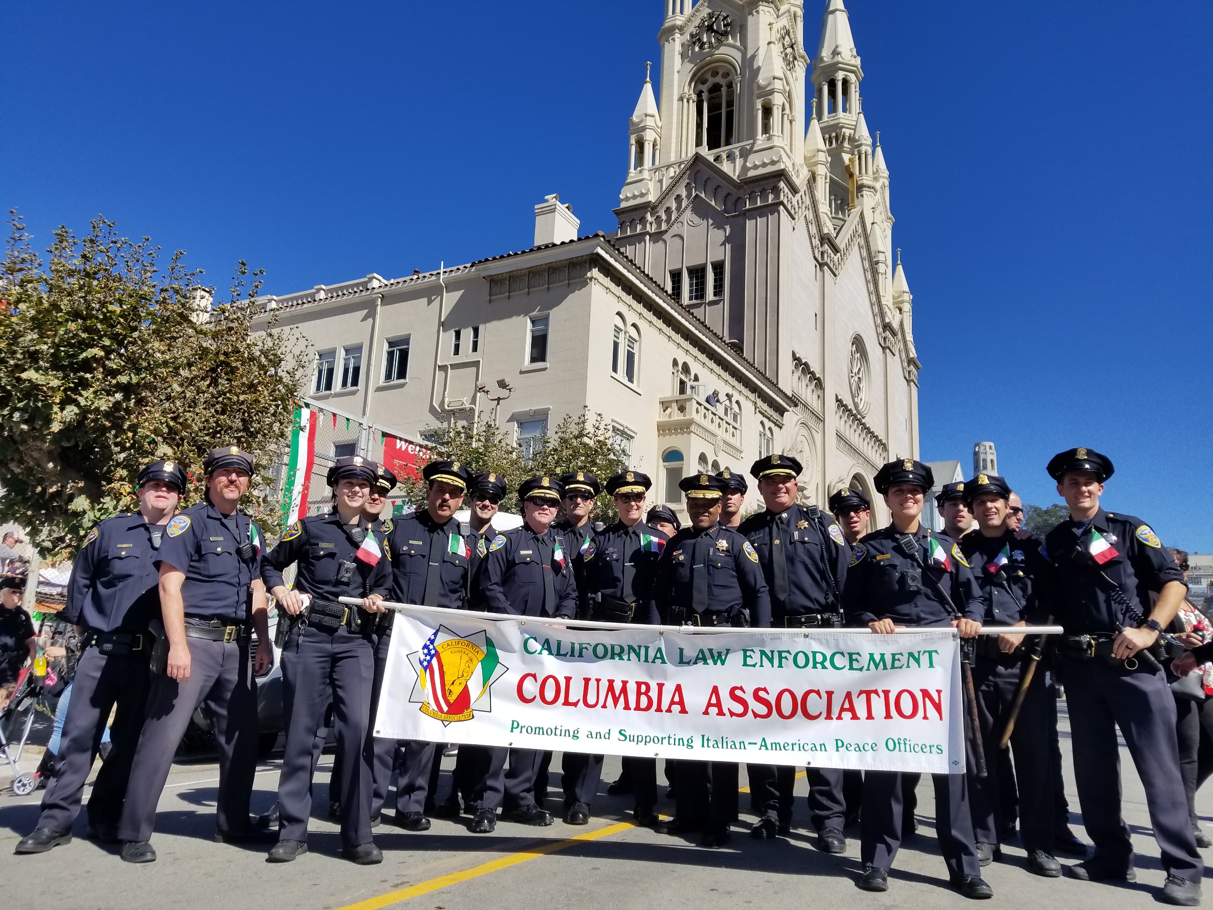 California Law Enforcement Columbia Association Promoting
